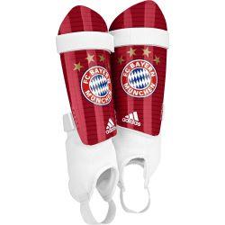 Protège tibias et cheville Bayern Munich rouge
