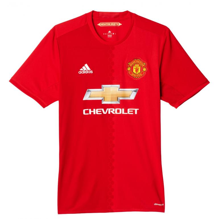 Maillot domicile Manchester United 2016 - 2017