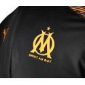 Sweat zippé OM noir orange 2019/20