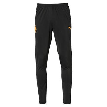 Pantalon survêtement OM noir orange 2019/20