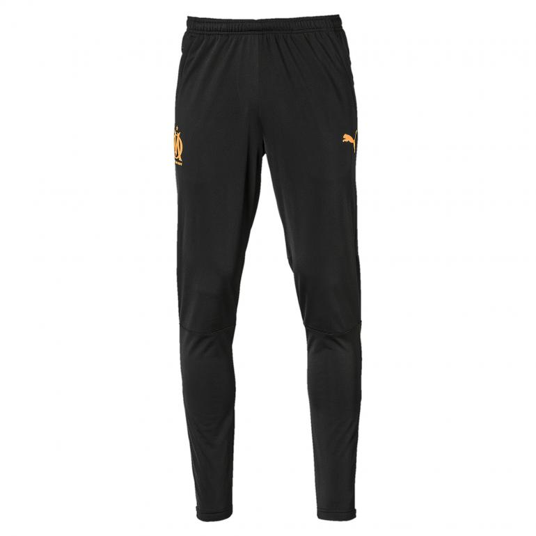 Pantalon survêtement OM noir orange 2019/20