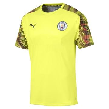 Maillot entraînement Manchester City jaune 2019/20