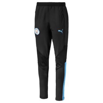 Pantalon entraînement junior Manchester City noir bleu 2019/20