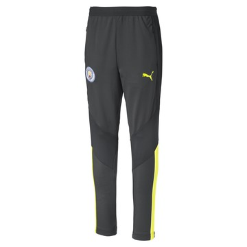 Pantalon entraînement junior Manchester City gris jaune 2019/20