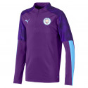 Sweat zippé junior Manchester City violet 2019/20