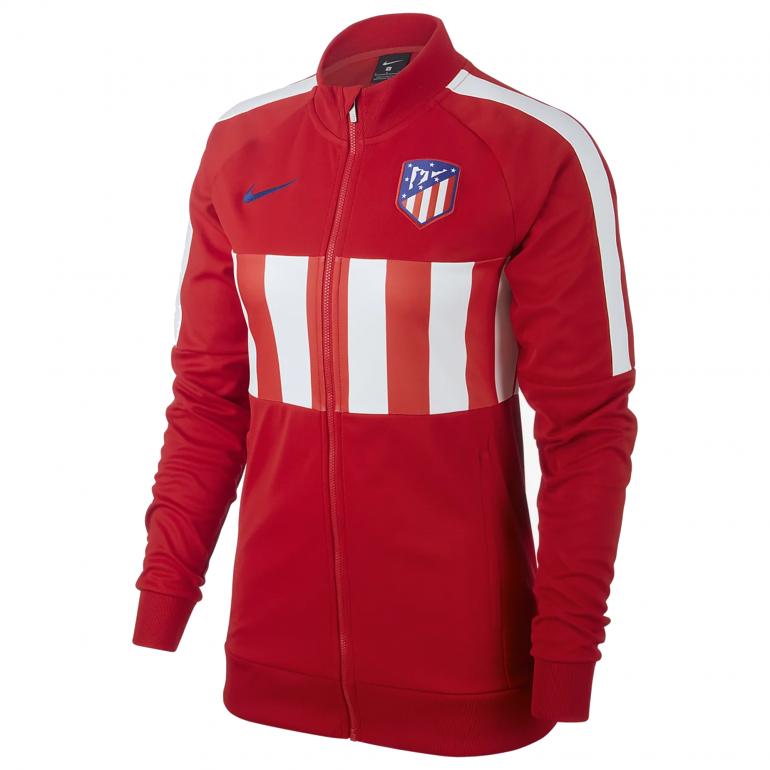 Veste survêtement Femme Atlético Madrid rouge 201920