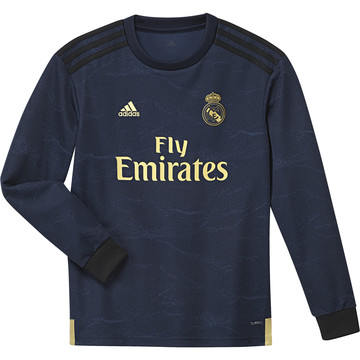 Maillot junior Real Madrid extérieur manches longues 2019/20