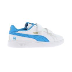 Basket junior OM blanc bleu 2019/20