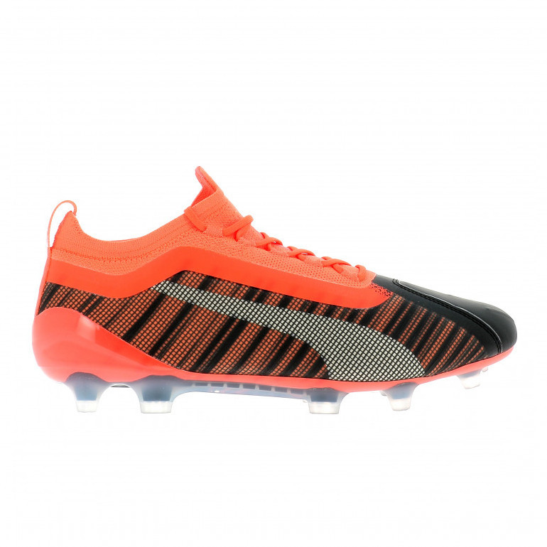Puma One 5.1 FG/AG noir orange