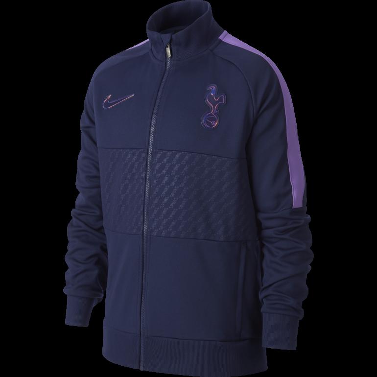 Veste survêtement junior Tottenham I96 bleu violet 2019/20