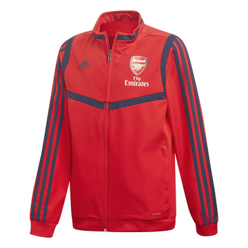 Veste entraînement junior Arsenal rouge 2019/20