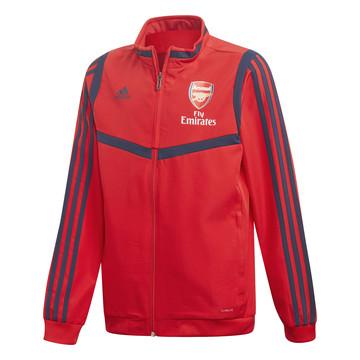 Veste entraînement junior Arsenal rouge 2019/20