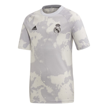 Maillot entraînement junior Real Madrid graphic gris 2019/20