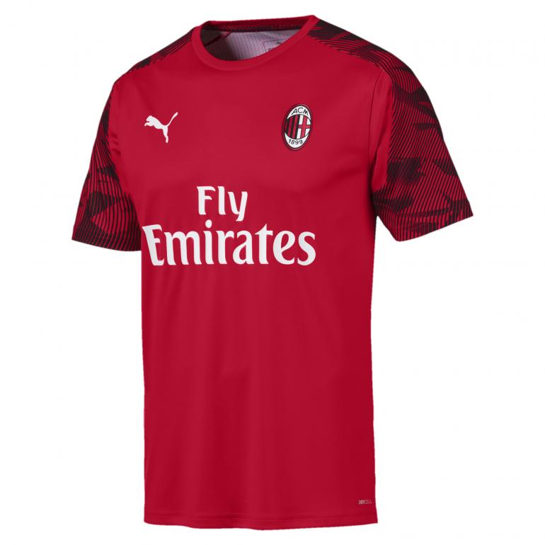 Maillot entraînement Milan AC rouge 2019/20