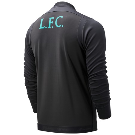 Veste survêtement Liverpool gris vert 2019/20