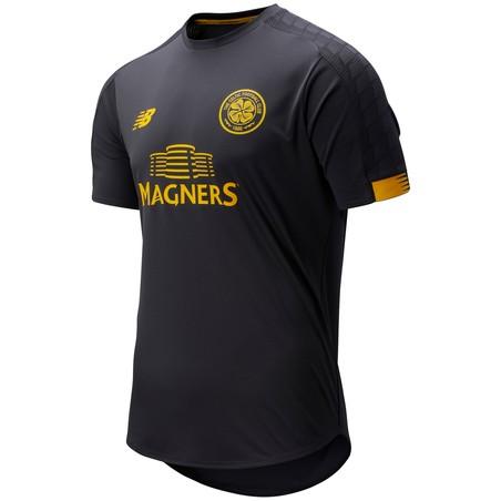 Maillot entraînement Celtic Glasgow noir jaune 2019/20