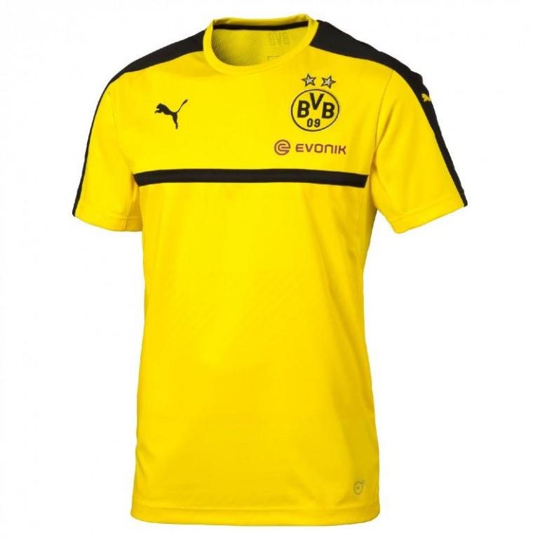 Maillot entraînement junior Dortmund jaune 2016 - 2017