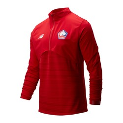 Sweat zippé LOSC Elite rouge 2019/20