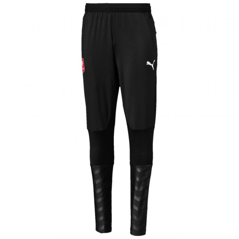 Pantalon survêtement junior Stade Rennais noir 2019/20