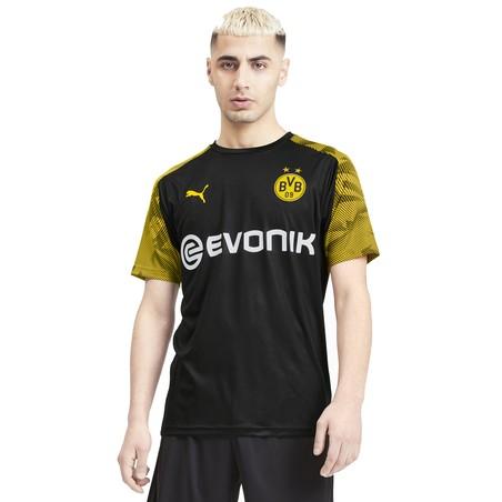 Maillot entraînement Dortmund noir jaune 2019/20