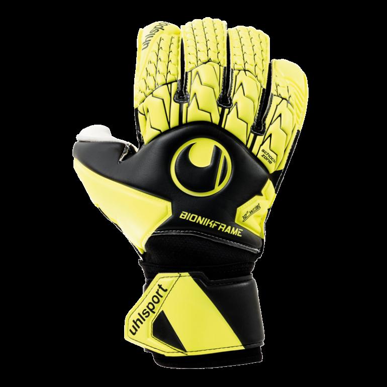 Gants gardien Uhlsport ABSOLUTGRIP BIONIK noir jaune 2019/20