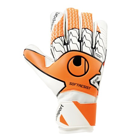 Gants gardien Uhlsport SOFT RESIST blanc orange 2019/20