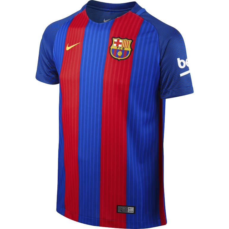 Maillot junior FC Barcelone domicile 2016 - 2017