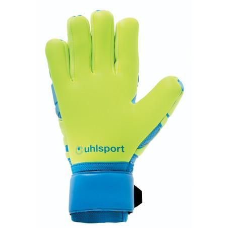 Gants gardien Uhlsport Absolut Grip bleu vert 2019/20