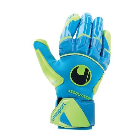Gants gardien Uhlsport AbsolutGrip REFLEX bleu vert 2019/20