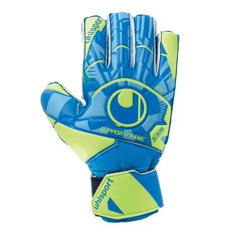Gants gardien junior Uhlsport SOFT SF bleu vert 2019/20