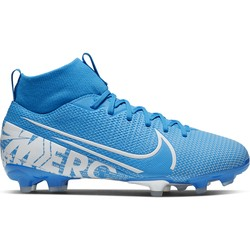 Mercurial Superfly VII junior Academy FG/MG bleu