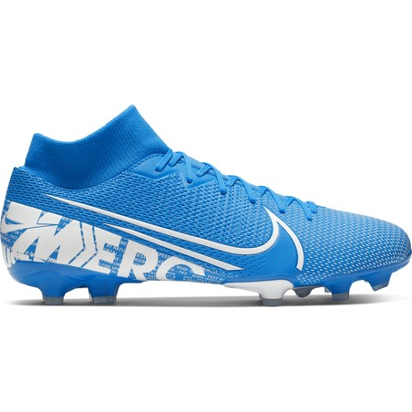 Mercurial Superfly VII Academy FG/MG bleu