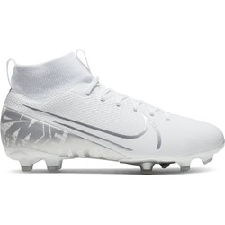 Mercurial Superfly VII junior Academy FG/MG blanc