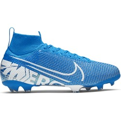 Mercurial Superfly VII junior Elite FG bleu