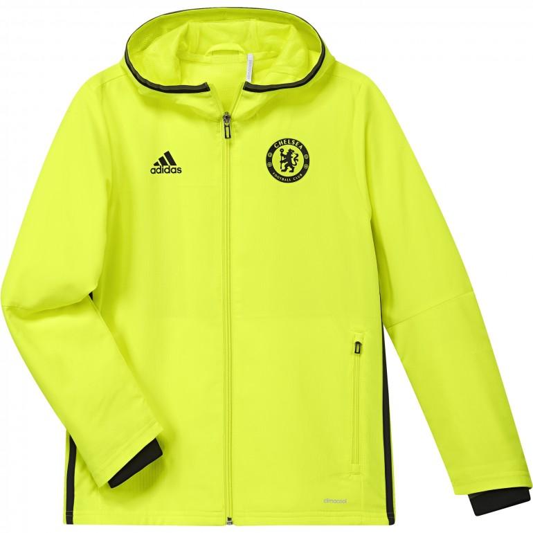 Veste avant-match junior Chelsea jaune 2016 - 2017