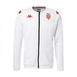 Veste survêtement AS Monaco Anthem blanc 2019/20