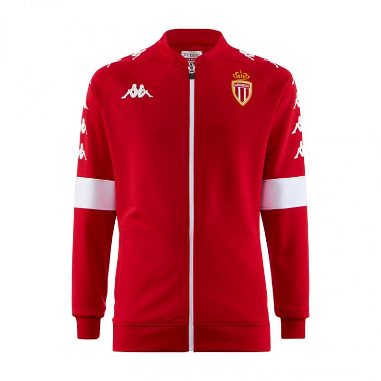 Veste survêtement junior AS Monaco rouge 2019/20
