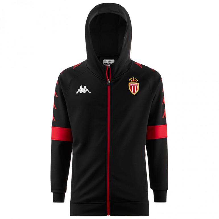 Vest à capuche Néoprène AS Monaco noir 2019/20