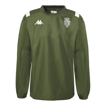Sweat entraînement AS Monaco vert 2019/20