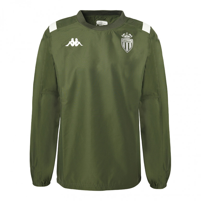 Sweat entraînement AS Monaco vert 2019/20