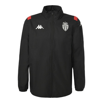 Veste imperméable AS Monaco noir 2019/20