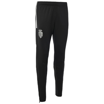 Pantalon survêtement AS Monaco noir blanc 2019/20