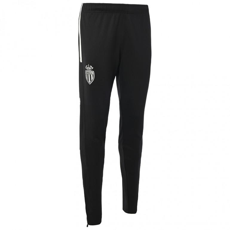 Pantalon survêtement AS Monaco noir blanc 2019/20