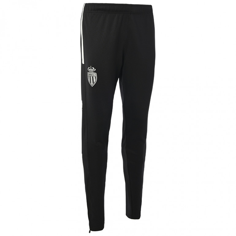 Pantalon survêtement junior AS Monaco noir 2019/20