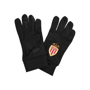 Gants joueurs AS Monaco noir 2019/20