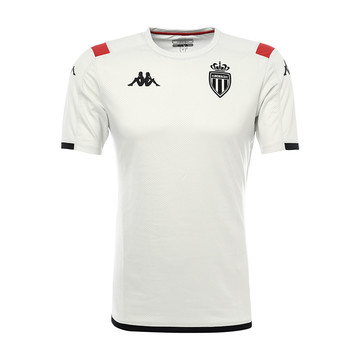 Maillot entraînement junior AS Monaco blanc 2019/20