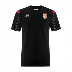 T-shirt AS Monaco noir 2019/20
