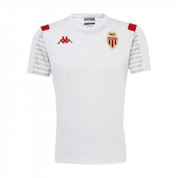 T-shirt junior AS Monaco blanc 2019/20