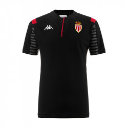 Polo junior AS Monaco noir 2019/20