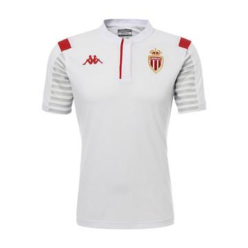 Polo AS Monaco blanc 2019/20
